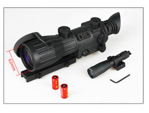 Military Tactical Night Vision Rifle Scope for Hunting Cl27-0011 pictures & photos