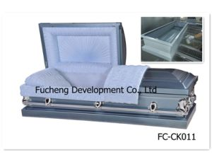 High Stable Quality Competitive Price Solid Poplar Casket pictures & photos
