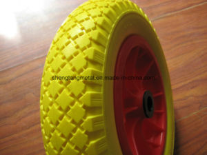 High Qualtity Flat Free Tire 3.50-8 pictures & photos