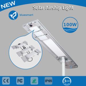 100W Solar All in One Street Light with Motion Sensor pictures & photos