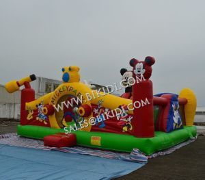 Outdoor Inflatable Bouncers Obstacle, Inflatable Obstacle Course, Obstacle Course Bouncer pictures & photos