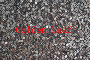 Sequin Embroidery Sequin on Mesh Garments 5mm (JPX1038)
