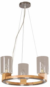 Wood Chandelier Lamp (25217) pictures & photos