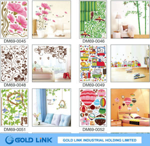Many Design PVC Vinyl Wall Sticke for Room Decoration pictures & photos