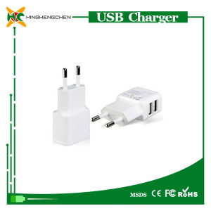 Universal Charger for Samsung EU Adapter Double USB Charger pictures & photos