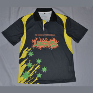 Sublimation Polo Shirt/Custom School Shirt From Factory Supplier