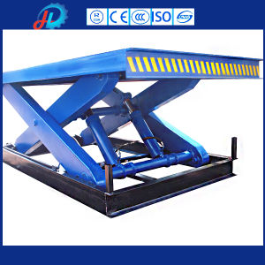 Hydraulic Scissor Lift Table Electric Stationary Scissor Lift for Lifting pictures & photos