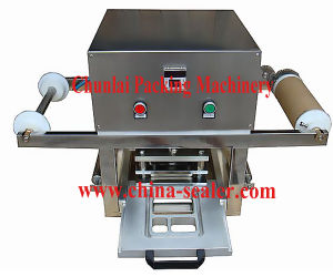Kis-1 Desktop Pneumatic Tray Sealing Machine pictures & photos