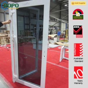 Latest Design Australian Standard UPVC Exterior Doors Picture pictures & photos