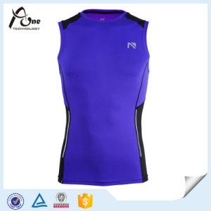 Wholesale Custom Design Athlete Compression Running Singlet