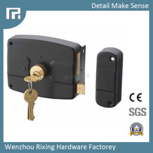 Mechanical Rim Door Lock (8701) pictures & photos