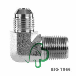 90 Degree Jic NPT Pipe Stainless Steel Adapter pictures & photos