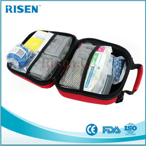 Portable EVA Car First Aid Kit for Outdoor Travel pictures & photos