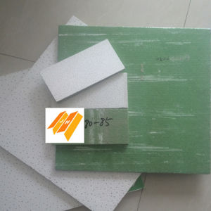 Manufacturer Fine Fissured Acoustic Ceiling Board (SGS 2′*2′*12/14/15mm) pictures & photos