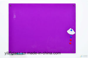 Color Serigraphy Tempered Glass for Whiteboard with Ce ANSI Certificate pictures & photos
