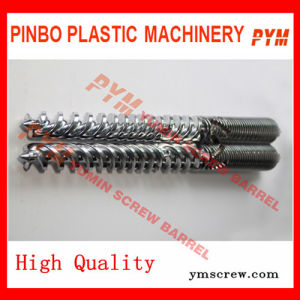 Twin Screw Barrel Is Used for PVC Products pictures & photos