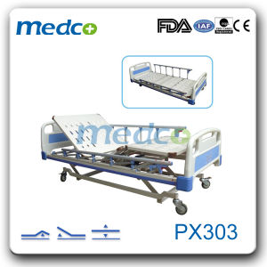 3-Function Super Low Electric Hospital Bed pictures & photos