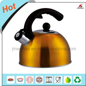 Color Coating Single Bottom Whistling Kettle (FH-022C)