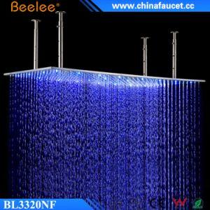 20′′ Luxury LED Light Negative Ion Shower Head