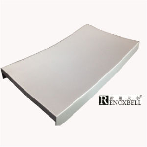 Multicolor Hyperbolic Shape Curved Aluminum Panel for Aluminum Facade pictures & photos