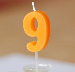 Birthday Cake Decoration Number Birthday Candle pictures & photos