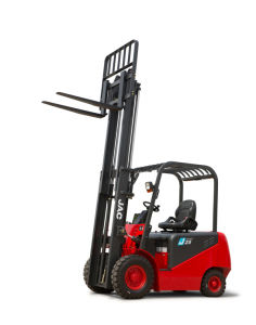 2.5ton Electric Forklift Triplex Full Free Mast pictures & photos