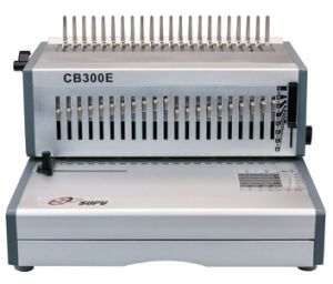 Electric Comb Binding Machine for Book Punching/Binding (CB300E) pictures & photos
