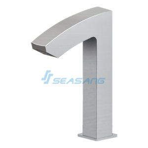 Touchless CSA Stainless Steel Fiber Sensor Bathroom Hand-Free Faucet pictures & photos