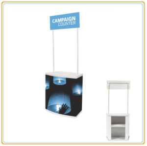 Portable PVC Sales Promotion Table, Promotion Stand Table pictures & photos
