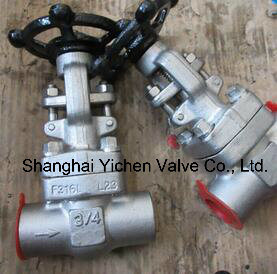 API 602 Forged Steel Alloy Steel Thread Gate Valve pictures & photos