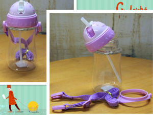 360ml Purple Color 4 to 12 Years Old Kid Water Bottle with Sipper