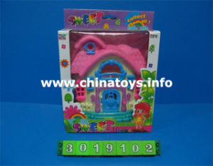Mini House Toy, Plastic House Kid Doll Toy (3019102) pictures & photos
