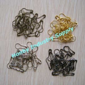 22mm Plated Metal Color Pear Shaped Safety Pins for Price Tag (P160721A) pictures & photos