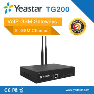 Yeastar 2 GSM Channels VoIP GSM Gateway pictures & photos