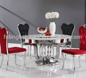 Living Room Furniture Home Dining Table with Marble Top pictures & photos