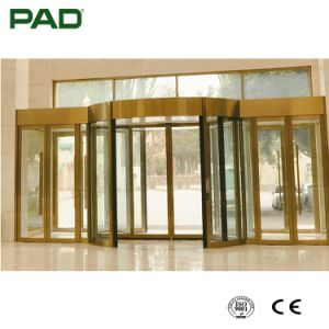 Top Selling Automatic 2-Wing Revolving Door for Mall pictures & photos