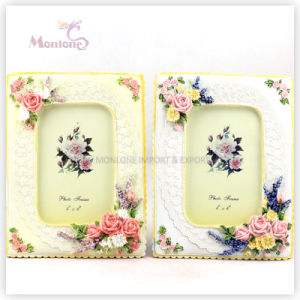 "Wall Decoration Funia Funny Resin Love Photo Picture Frame (4""X6"") pictures & photos"