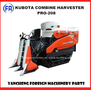 Kubota Combine Harvester PRO-208 pictures & photos