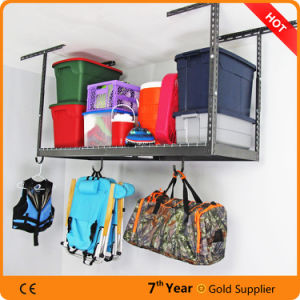 Heavy Duty Overhead Garage Adjustable Ceiling Storage Rack pictures & photos