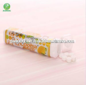 9g Fruit Flavor Tablet Candy- Lemon Flavor pictures & photos