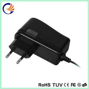 9W VDE Black Casing Universal AC/DC Adapter Switching Power Supply