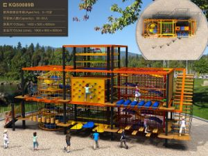 Kaiqi Adventure Aerial Assault Course Playground for Children - Safe and Fun (KQ50089B) pictures & photos