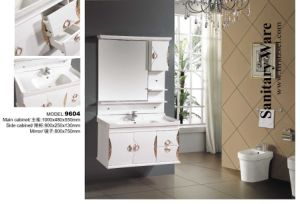 New PVC Bathroom Cabinet for Bathroom Use Vanity 9604