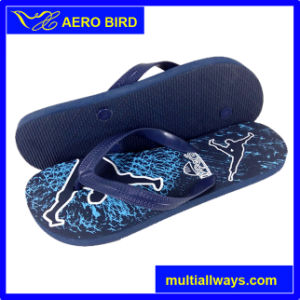 Colorful Printing Durable PE Male Footwear Slipper pictures & photos