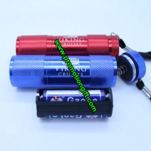 Aluminum 9 LED Flashlight pictures & photos