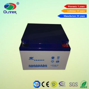 Maintenance Free Deep Cycle AGM 12V 24ah Lead Acid Gel Battery pictures & photos