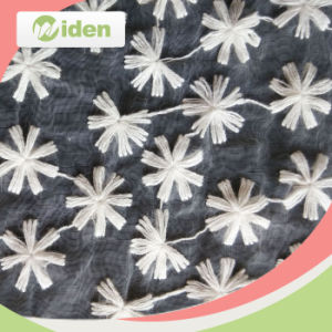 120cm Free Sample Avaliable African Flower Design Fishnet Fabric pictures & photos