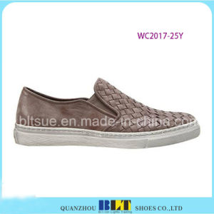 Leather Own Design Lace Shoes for Women pictures & photos