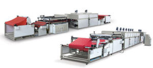 Automatic Roll to Roll Non-Woven Fabric Screen Printing Machine for Shopping Bag