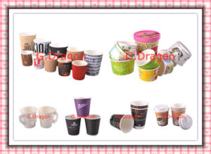 1.5-32 Ounce Hot Beverage Paper Cups and Lids (PC025) pictures & photos